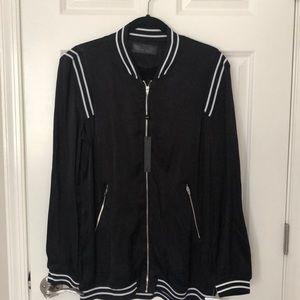 BLANKNYC Silky Windbreaker Jacket